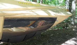 8. Chrysalis Hammock Tent