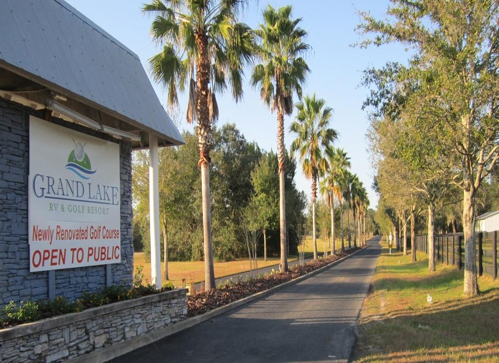 Drive To Florida, Park RV, Play Golf