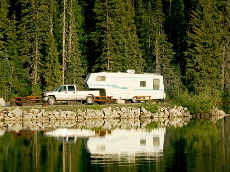 RV Campgrounds With The Best Waterviews