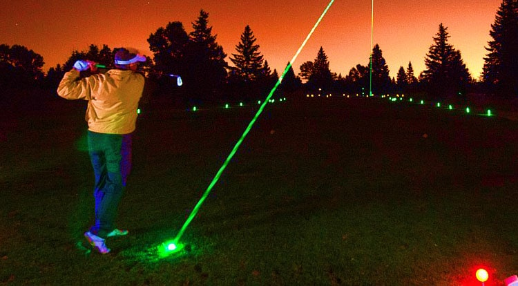 LED Night Golfing
