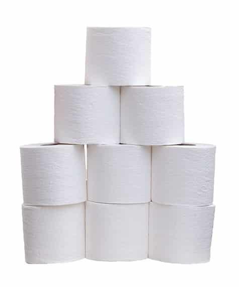 RV septic tank toilet paper rolls