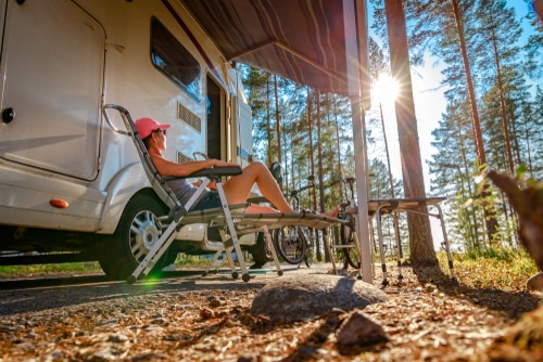 Check out these RV resorts for a fall foliage camping experience
